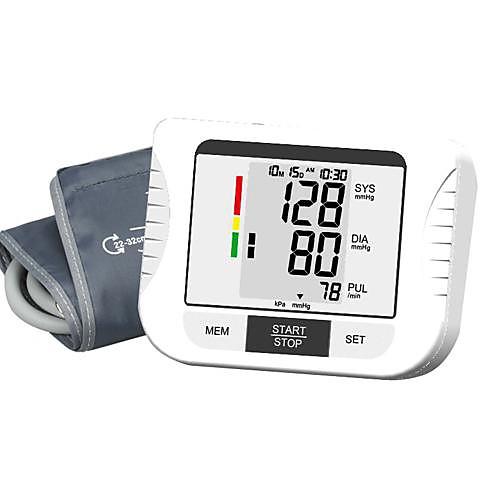 Автоматическая цифровая рука Монитор артериального давления (0 ~ 299mmHg, ± 3mmHg, 4xAA батареи) Lightinthebox 1847.000