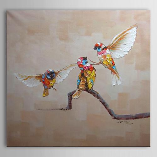 Ручная роспись маслом животных Hummingbird Lightinthebox 4210.000