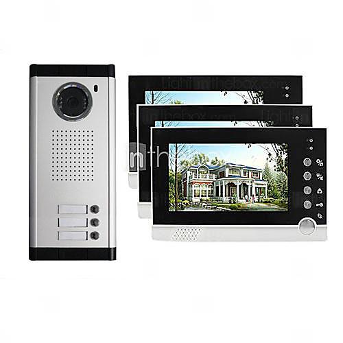 Главная безопасности проводных 7-дюймовый TFT ЖК-экран видео-телефон двери Lightinthebox 10312.000