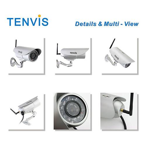 tenvis - водонепроницаемый беспроводной IP-камеры на открытом воздухе с обнаружением снимок и движения Lightinthebox 3007.000