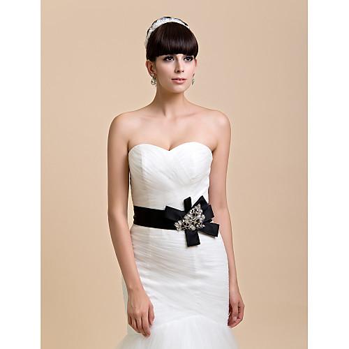 Отлично Handmade Satin / Кружева Свадьба / Вечерние пояса с вышивкой бисером (больше цветов) Lightinthebox 1219.000