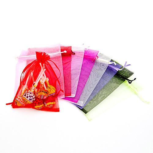Мешочки для сувениров и сладостей из органзы - набор из 12 (цвета в ассортименте) Lightinthebox 70.000