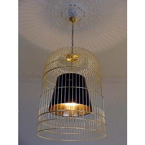 птичья клетка дизайн кулон, 1 свет, испанский стиле железо живопись Lightinthebox 6874.000