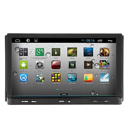 TH8052GNC 7 дюймовый 2 Din Android6.0 В-Dash DVD-плеер ДАБ для Универсальный Поддержка / Bluetooth / Wifi / DVD-R / RW / DVDR / RW / AVI