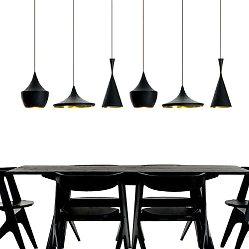 Светильники подвесные с металлическим абажюром в стиле лофт (3 лампы в комплекте) Lightinthebox 5370.000