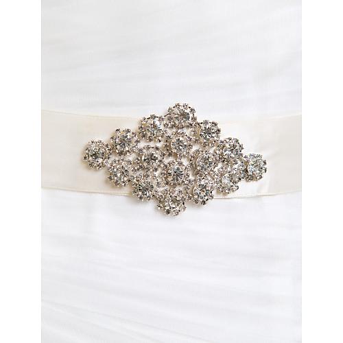 Отлично атласные / Crystal Женская Свадьба / Вечерние пояса (больше цветов) Lightinthebox 695.000