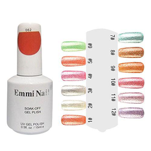 УФ цветной гель Красочные Nail Art Лак для ногтей (15 мл, 1 флакон) Lightinthebox 285.000