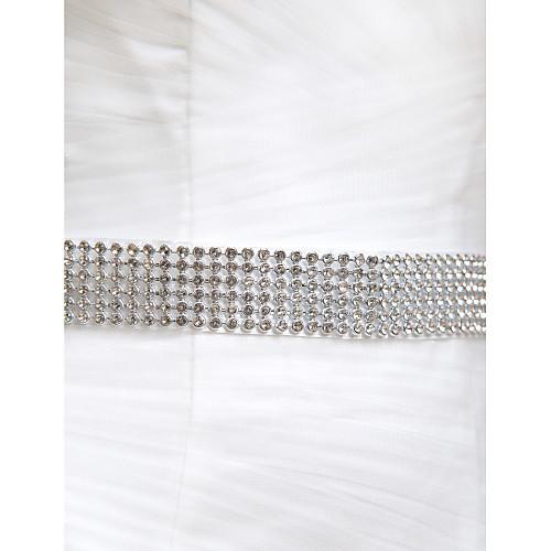Нежные атласные / Crystal Женская Свадьба / Вечерние пояса (больше цветов) Lightinthebox 837.000