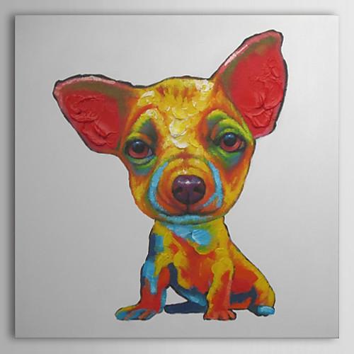 Ручная роспись маслом животных Чихуахуа Lightinthebox 2362.000