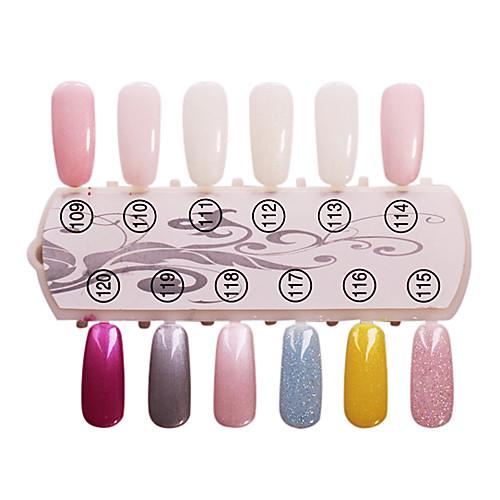 1PCS блестками УФ цветной гель лак для ногтей № 109-120 Soak-офф (15 мл, разных цветов) Lightinthebox 326.000