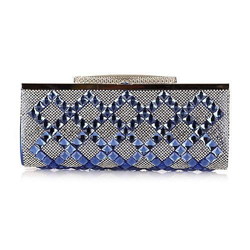 Женская Стекло алмаз ужин платье мешок руки 7135-1