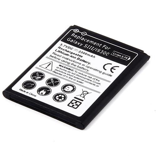 3.7V 2500mAh аккумулятор и USB зарядное устройство для Samsung I9300 Galaxy S3 Lightinthebox 427.000