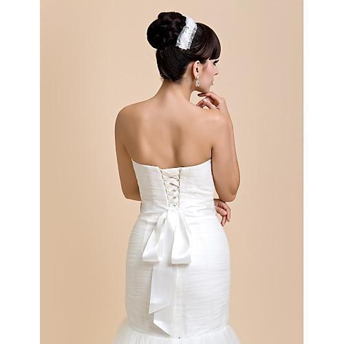 Высокий Handmade Satin / Кружева Свадьба / Вечерние пояса с вышивкой бисером (больше цветов) Lightinthebox 1503.000