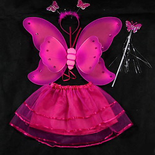 световой танец платье с крыльями бабочки детей Хеллоуин костюм (для 3-8 лет) Lightinthebox 429.000