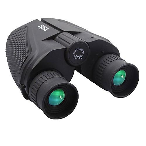 BIJIA 12X25 мм Бинокль Водонепроницаемый Высокая мощность Ночное видение Fogproof Погода устойчивы Общего назначения BAK4Полное от Lightinthebox.com INT