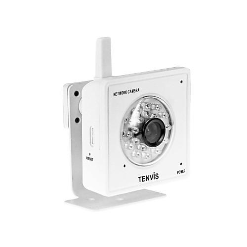 tenvis - мини IP-камера беспроводная сеть iphone / Android / ежевика поддерживает (белый) Lightinthebox 1718.000