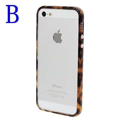 Leopard Pattern рамка Бампер для iPhone 5/5S Lightinthebox 214.000