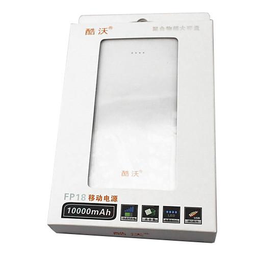 KOOWO 10000mAH Полный емкости портативных Power Bank / Мобильная электростанция Lightinthebox 1417.000