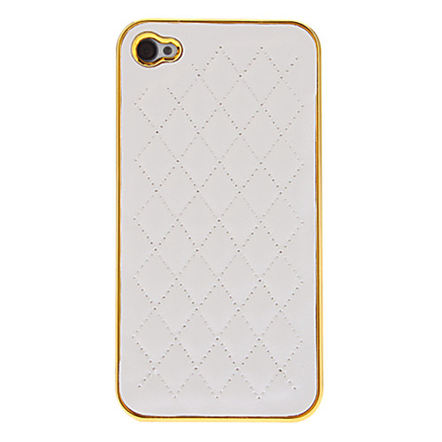 White Deluxe овец хромовой кожи золотой оправе яблока аргументы за iphone 4/4S Lightinthebox 171.000