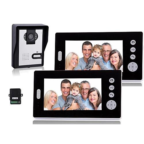 7-дюймовый беспроводной видео-телефон двери с ночного видения (1camera 2 монитора) от Lightinthebox.com INT