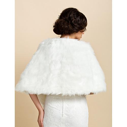 Хороший искусственный мех вечер / свадебный платок Lightinthebox 858.000