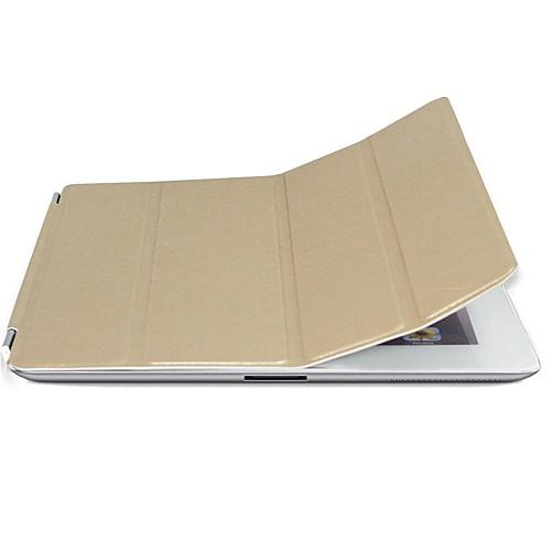 Чехол с функциями умной обложки и подставкой для iPad2/3/4 (цвета в ассортименте)