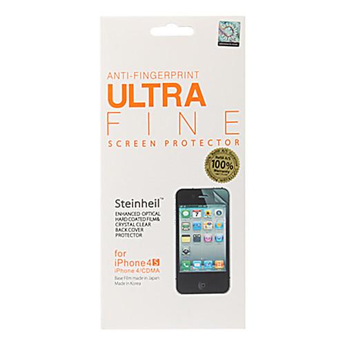 Супер-матовая защитная пленка для iPhone 4, 4S против отпечатков пальцев (передняя и задняя) Lightinthebox 118.000