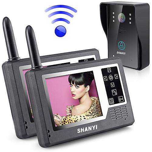 Беспроводное видео-телефон двери просмотра фотокамеры Цифровые глазок Дверь просмотра с DVR Функция (1 до 2) Lightinthebox 8593.000
