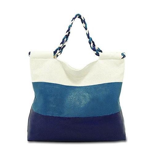 Влюбиться CONSTRAST ЦВЕТОВ СПЕЦИАЛЬНЫЕ полым из ЭКСПОНАТА дизайн одежды женщины сумка