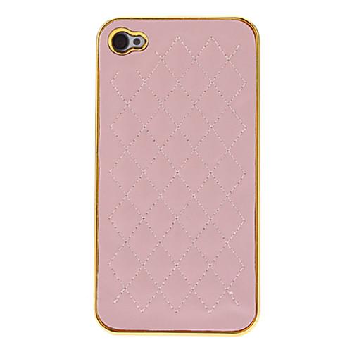 White Deluxe овец хромовой кожи золотой оправе яблока аргументы за iphone 4/4S Lightinthebox 171.000