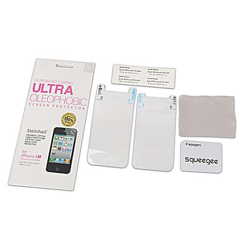 Маслоотталкивающая защитная пленка для iPhone 4 /4S (2 шт.) Lightinthebox 167.000