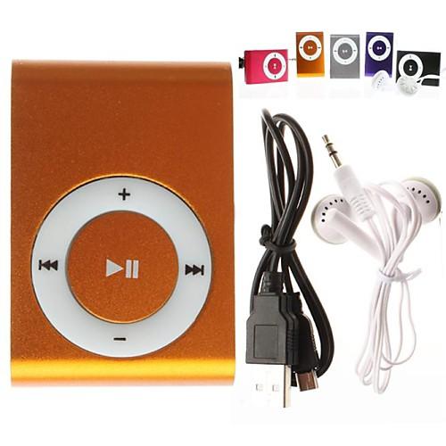 Мини Clip Plug-In, Micro SD, CardTF CardReader, MP3 Music Player (Разные Цвета) от Lightinthebox.com INT