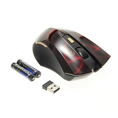 Профессиональная геймерская 2.4G беспроводная мышь красного цвета (800/1200/1600DPI) Lightinthebox 558.000