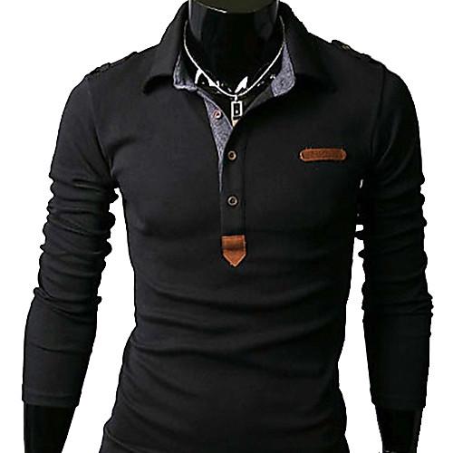 U & F Мужская Встроенная Черная футболка Lightinthebox 858.000