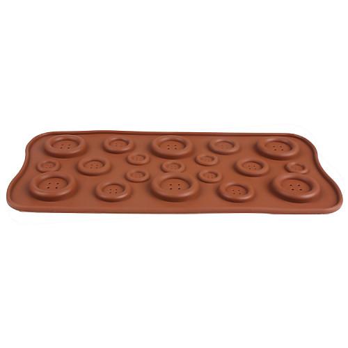 Силиконовые формы для пуговиц Форма для шоколада Lightinthebox 128.000