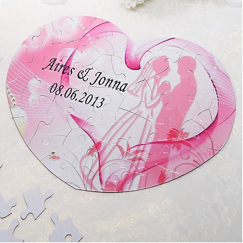 Heart Shaped Персонализированные головоломки - Розовый Романтика Lightinthebox 204.000