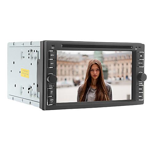 6.2-дюймовый 2 DIN универсальный автомобиль DVD-плеер с радио, DVD, SD, USB, Bluetooth, Ipod