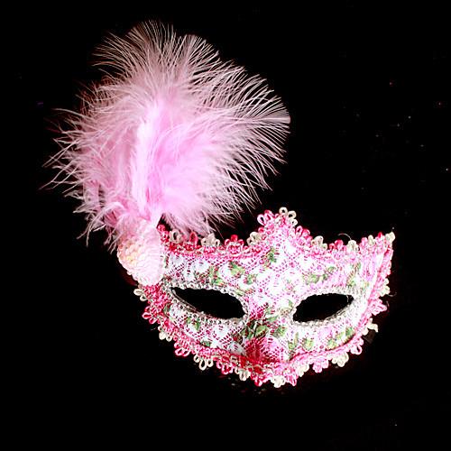 Партия Королева Кружева и перо Женская Карнавал Маскарад маска Lightinthebox 343.000