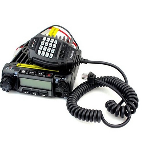 Запуск нового TYT VHF / UHF Mobile Radio TH-9000 с 60Watts Выходные Радио силы автомобиля Lightinthebox 8593.000