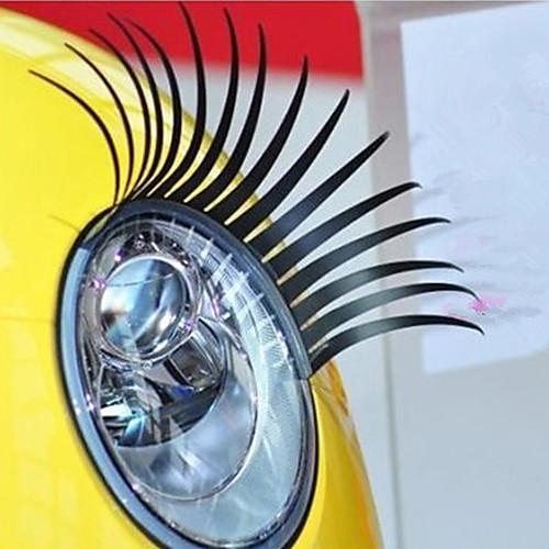 Ресницы автомобилей Декоративные наклейки фар автомобиля (пара) Lightinthebox 171.000