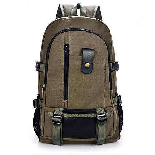 открытый рюкзак мужской досуг холст большой емкости (ассорти цветов)
