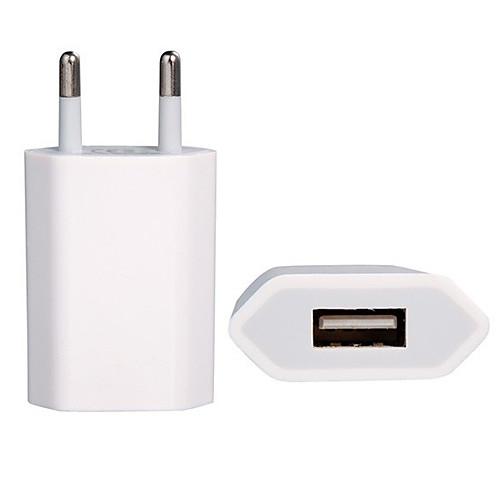 1000ma ЕС зарядное USB Power Adapter для Ipod, iphone 3G / 3GS, iphone 4 / 4s, IPhone 5 / 5S Lightinthebox 128.000