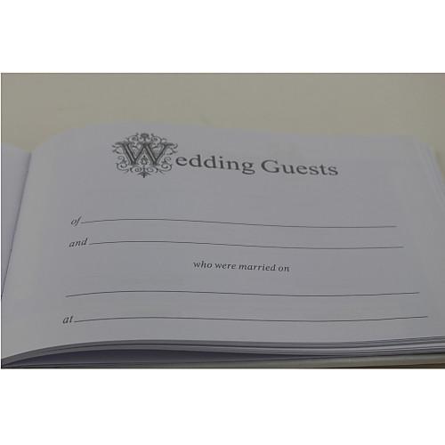 элегантной свадьбы гостевая книга и перо набор с кружевом Lightinthebox 1073.000