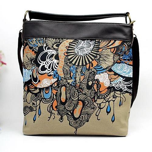 моды случайные ручная роспись холст сумка диагональ пакет женщин