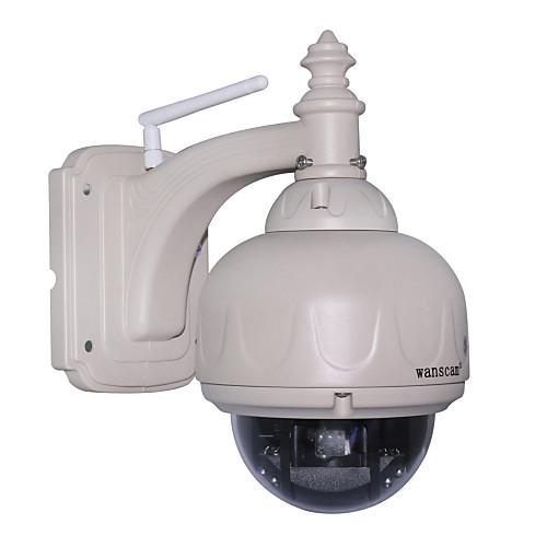 WANSCAM - PTZ беспроводной водонепроницаемый Открытый IP-камера с 3-кратным оптическим зумом и ИК-