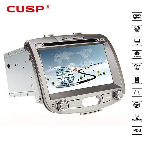 параболическая  7 дюймов 2din в тире DVD-плеер автомобиля для Hyundai i10 2007-2013 Поддержка GPS, BT, RDS, игры, ставку Lightinthebox 9582.000