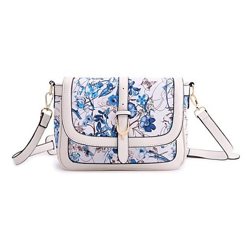 женская новая классика цветочный стиль печати Гавайи Кроссбоди посланник плеча сумку