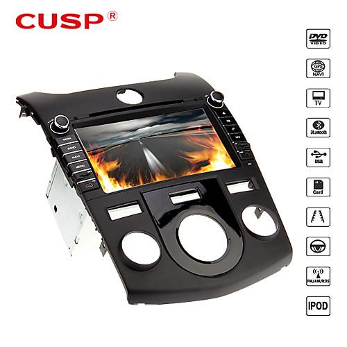 параболическая  8 дюйма 2din в тире DVD-плеер автомобиля для KIA Cerato 2008-2012 Поддержка GPS, BT, RDS, игры, ставку Lightinthebox 9281.000