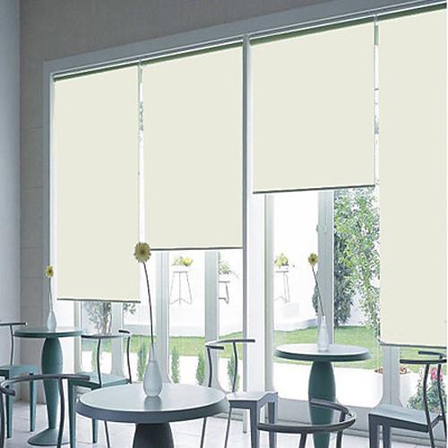 Рулонные шторы бежевого цвета в современном стиле Lightinthebox 858.000