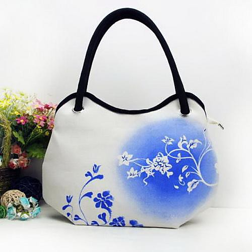 моды случайные холст ручной росписью картины сумка сумочка bieyangwomen в